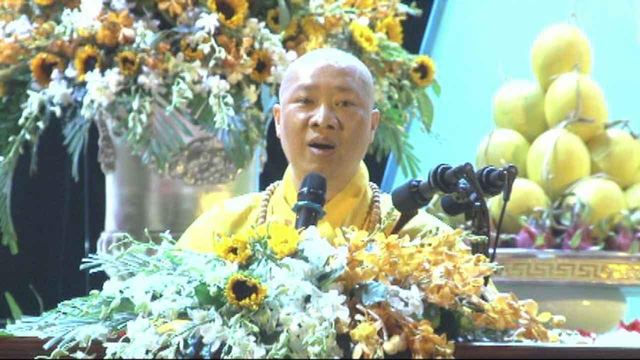 Những điều khó làm trong cuộc sống Thích Thiện Thuận Phật Đản 2017