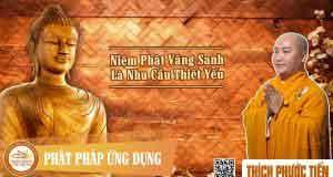Niệm Phật vãng sanh là nhu cầu thiết yếu