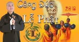 Công đức lễ Phật