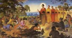 Hái hoa dâng Phật