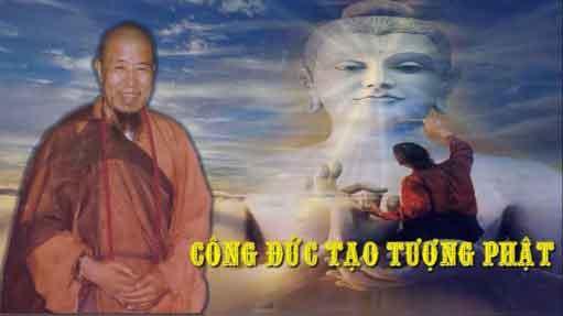 Công đức tạo tượng Phật