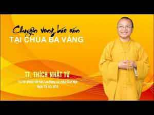 Chuyện Vong Báo Oán tại chùa Ba Vàng