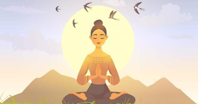 Thiền giúp an tâm mùa dịch